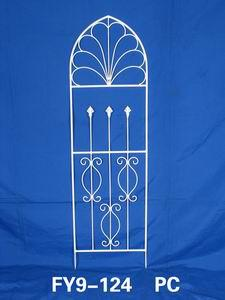 Home Decoration Garden Decor White Garden Scroll Trellis