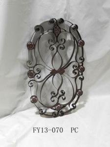 Antique Home Decoration Metal Oval Wall Art Decoration