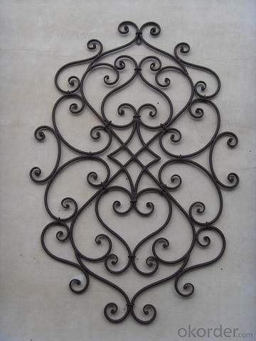 Hot Selling New Design Iron Craft Irregular Wall Art Decoration