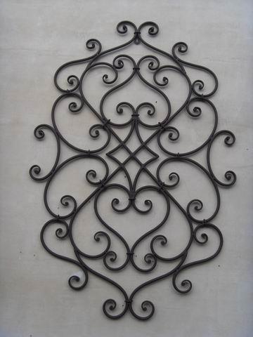 Hot Selling New Design Iron Craft Irregular Wall Art Decoration