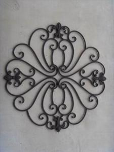 Hot Selling New Design Iron Craft Round Wall Decoration
