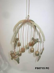 Hot Selling Home Decor Metal Wall Art Decoration Bells