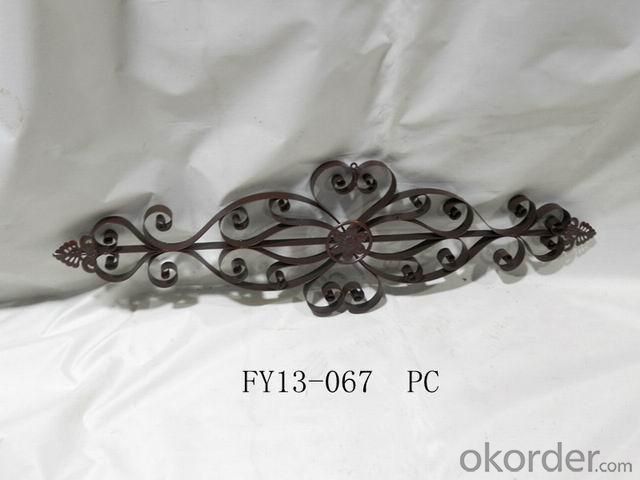 Home Decoration New Design Iron Craft Beauty Wall Art Decoration