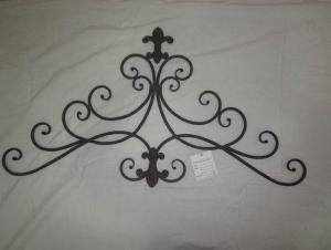 Hot Selling New Design Iron Craft Simple Style Wall Decoration