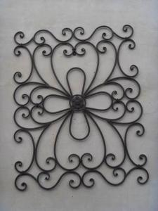 Hot Selling New Design Iron Craft Clover Wall Art Decoration