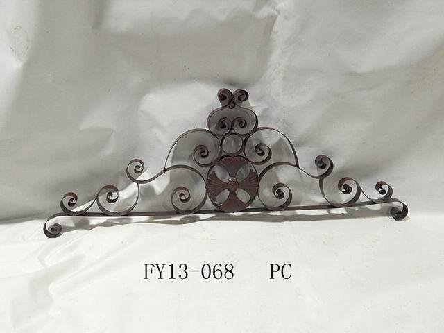 Antique Home Decoration Metal Crown Wall Art Decoration