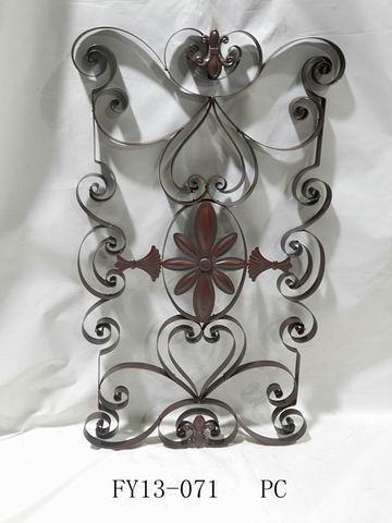 Antique Home Decoration Metal Rectangle Wall Art Decoration