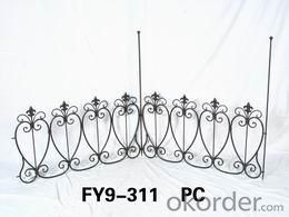 Home Decoration Garden Decor 45.5cm High Iron Trellis