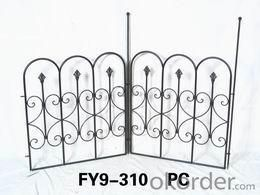 Home Decoration Garden Decor 61cm High Iron Trellis