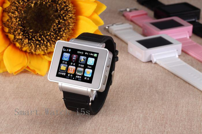 Mobile Phones Android Smart Watch  I6 Touch Screen Bluetooth with 4G TF card