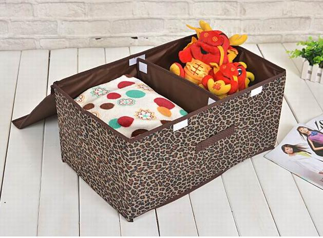 High Quality Home Storage Sexy Leopard Two Cover Storage