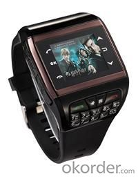 Mobile Phones Android Smart Watch Q6 SNS Touch Screen Bluetooth USB