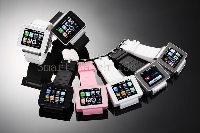 Mobile Phones Android Smart Watch  I8s Touch Screen bluetooth with 4G TF Card