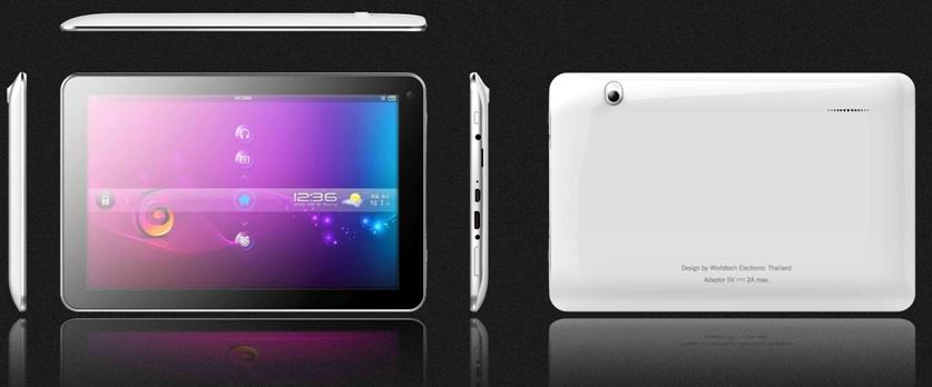 Tablet PC CAM101 RK3188-t Quad cores 1GB + 8G 10inch
