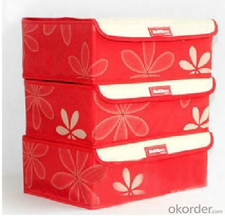 High Quality Home Storage 6 Grid Bra Storage Box