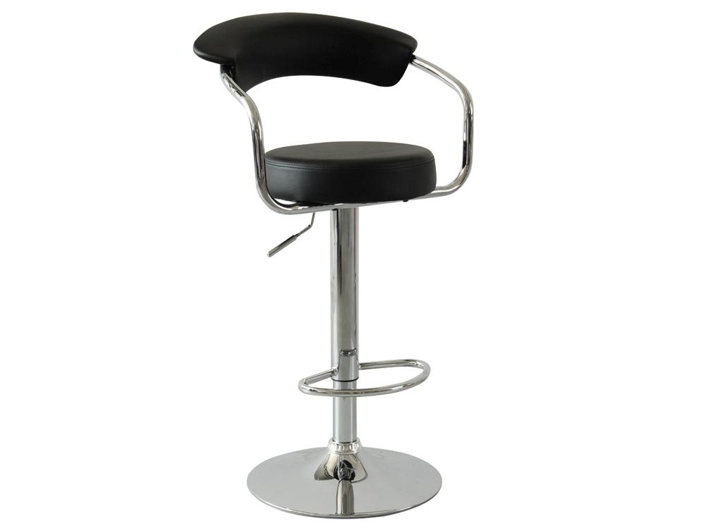 Hot Selling High Quality Comfortable Black PU Bar Stool