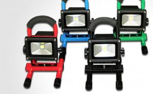 High Quality LED Dimmable Flood Light Chargeable High Brightness 10W