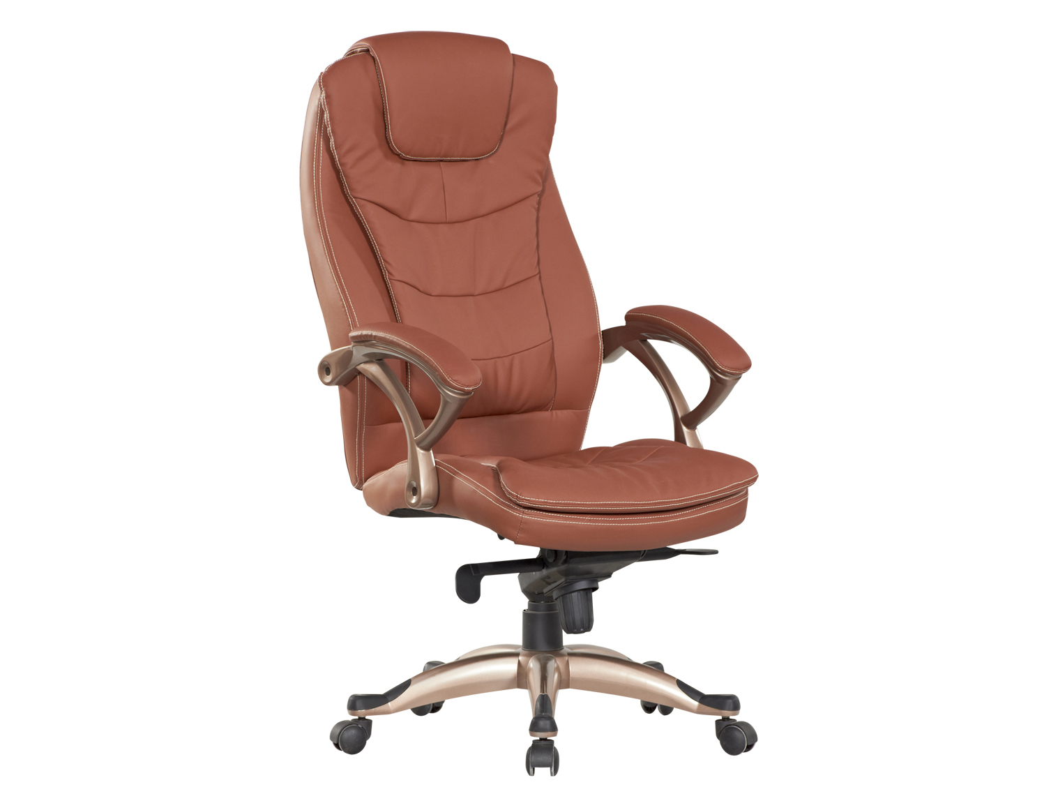 Classical Hot Selling High Quality Dark Brown High Back Office Chair