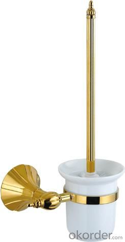 Hardware House Bathroom Accessories Rome Series Titanium Gold Toilet Brush Holder