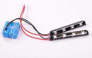 Auto Lighting System DC 12V 0.08A 0.2W Red CM-DAY-028