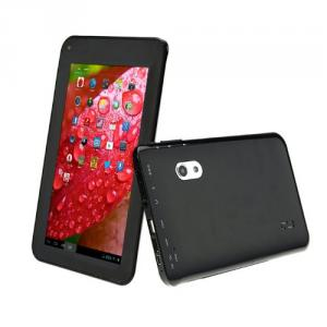 Capacitive Touch Screen 7 Inch Android 4.2 Tablet PC With Dual Core A9 VIA8880 1.5GHz 8GB WiFi Dual Camera Black