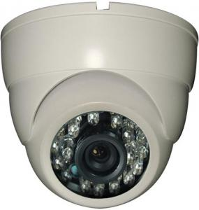 Plastic IR Dome Camera SONYSUPER HAD CCD Ⅱ 420TVL SONY 3142DSP+633CCD