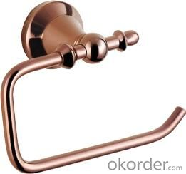 Hardware House Bathroom Accessories Rose Gold Series Roll Holder