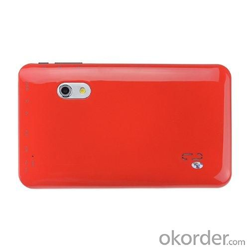Dual Core A9 VIA8880 7 Inch Capacitive Touch Screen Android 4.2 Tablet PC With 1.5GHz 8GB WiFi Dual Camera Red