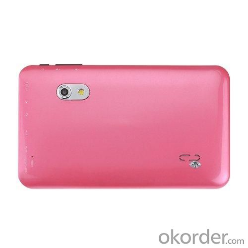 Android 4.2 7 Inch Allwinner A23 Dual Core Tablet PC 1GB RAM 8GB 1.5GHz Wifi 800*480 Capacitive Screen Dual Camera Pink