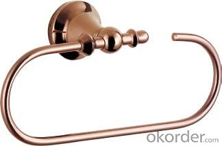 Hardware House Bathroom Accessories Rose Gold Series Towel Ring