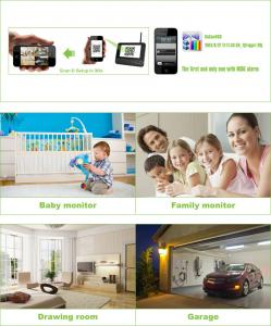 4CH Home Security Outdoor Remote Home Surveillance  System With 7Inch LCD Monitor 8107JR4