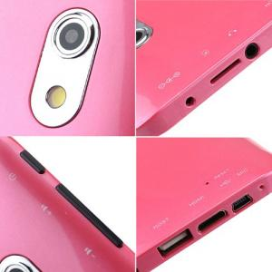 Dual Core Cortex A9 VIA8880 1.5GHz Android 4.2 Tablet PC MID With 7 Inch Capacitive Touchscreen HDMI WIFI 4GB Pink