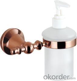 Hardware House Bathroom Accessories Rose Gold Series Soap Dispenser