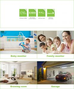 2.4GHz Wireless Digital Baby Monitor Night Vision 8209JA