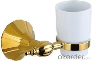 Hardware House Bathroom Accessories Rome Series Titanium Gold Tumbler Holder