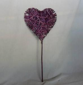 Home Decor Hot Selling Purple-Painting tained Willow-Woven Deco
