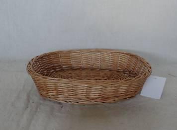 Home Storage Willow Basket Natural Willow Oval Tray