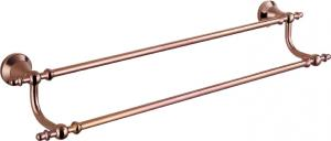 Hardware House Bathroom Accessories Rose Gold Series Double Towel Bar