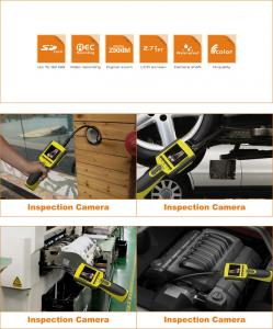 Inspection Camera With Recordable Monitor IP67 Waterproof GL8883