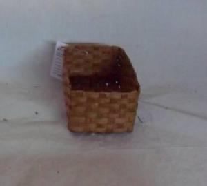 Home Storage Willow Basket Soft Woven Flat Paper Box