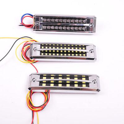 Auto Lighting System DC 12V 0.13A 0.2W White CM-DAY-033