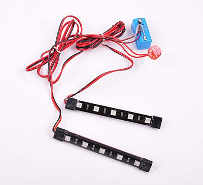 Auto Lighting System DC 12V 0.08A 0.2W  Blue CM-DAY-026