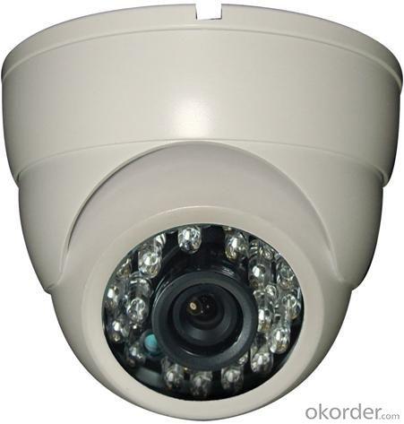 Plastic IR Dome Camera SONYSUPER HAD CCD Ⅱ 540TVL 2090DSP+2365CCD