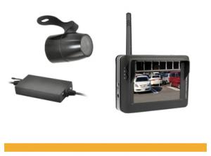 Wireless Car Rearview Camera Adjustable Multiple Angle Night Vision 3.6Inch LCD Monitor 8902JP