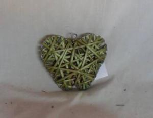 Home Decor Hot Selling Stained Willow-Woven Apple Deco