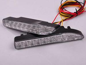 Auto Lighting System DC 12V 0.18A 0.06W Blue CM-DAY-05