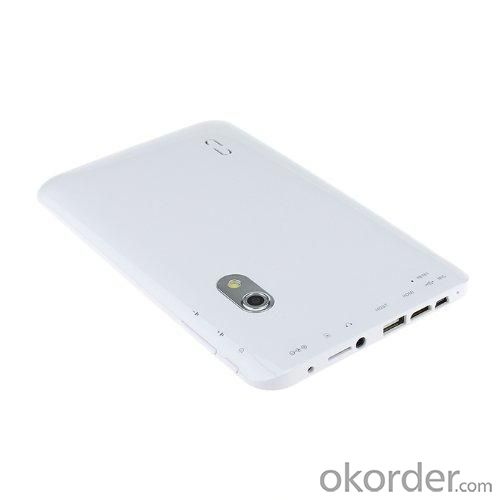 Dual Core Cortex A9 VIA8880 1.5GHz Android 4.2 Tablet PC MID With 7 Inch Capacitive Touchscreen HDMI WIFI 4GB White