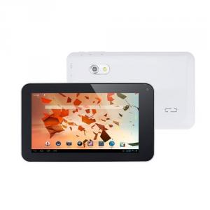 Allwinner A23 Dual Core 7 Inch Tablet PC Android 4.2 512MB RAM 4GB 1.5GHz Wifi 800*480 Capacitive Screen Dual Camera White