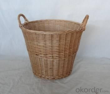 Home Storage Willow Basket Willow Log Basket