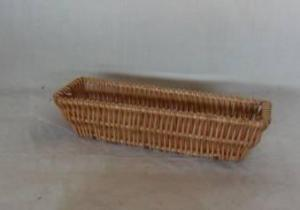 Home Storage Willow Basket Natural Willow Bread Tray